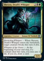 Shessra, Death's Whisper - Foil