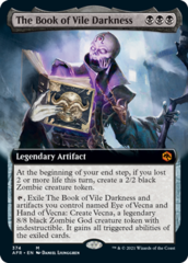 The Book of Vile Darkness - Foil - Extended Art
