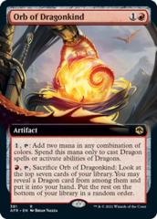 Orb of Dragonkind - Foil - Extended Art