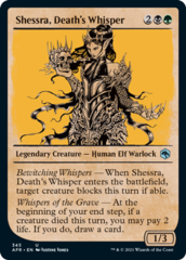 Shessra, Death's Whisper - Foil - Showcase