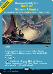 Hall of Storm Giants - Foil - Dungeon Module