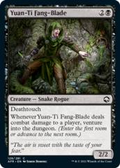 Yuan-Ti Fang-Blade - Foil