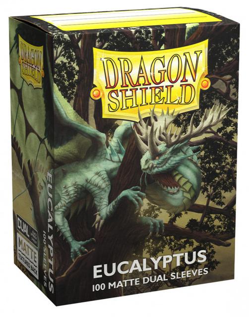 Dragon Shield Dual Matte Sleeves: Eucalyptus