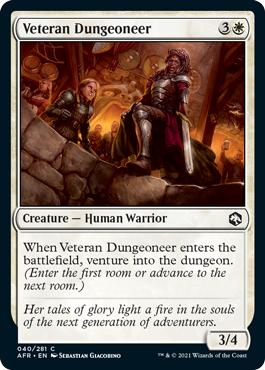 Veteran Dungeoneer - Foil