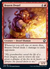 Brazen Dwarf - Foil