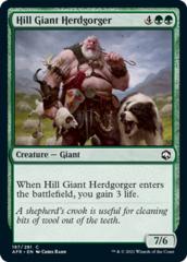 Hill Giant Herdgorger - Foil