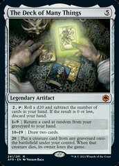 The Deck of Many Things - Foil