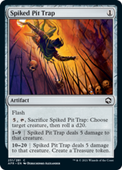 Spiked Pit Trap - Foil