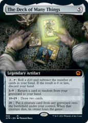 The Deck of Many Things - Foil - Extended Art