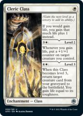 Cleric Class - Foil