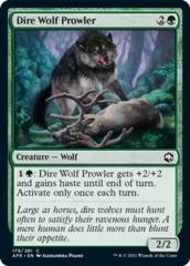 Dire Wolf Prowler - Foil