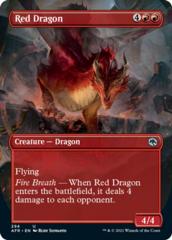 Red Dragon - Foil - Borderless