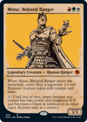 Minsc, Beloved Ranger - Foil - Showcase