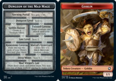 Dungeon of the Mad Mage // Goblin Token - Foil