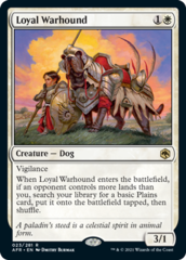 Loyal Warhound - Foil