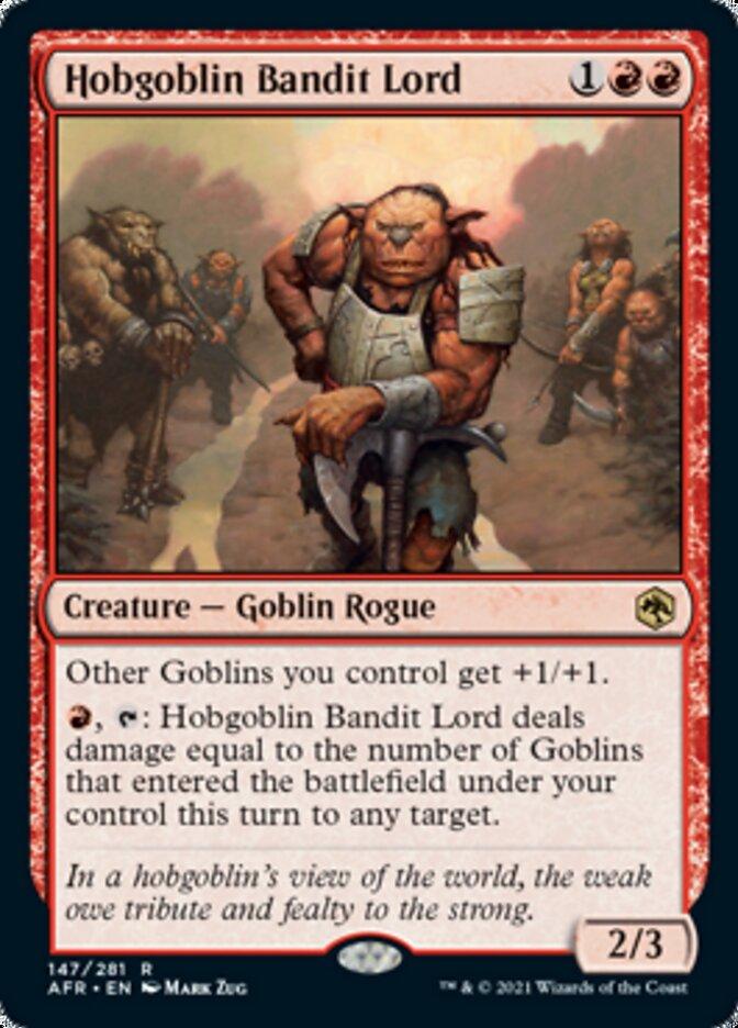 Hobgoblin Bandit Lord - Foil