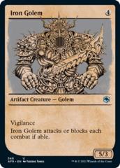 Iron Golem - Foil - Showcase