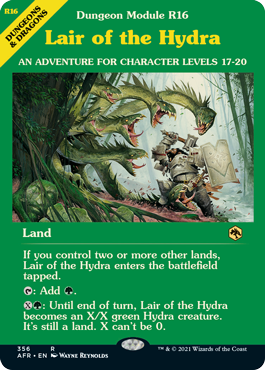 Lair of the Hydra - Dungeon Module