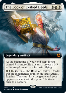 The Book of Exalted Deeds - Extended Art
