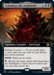 Asmodeus the Archfiend - Foil - Extended Art