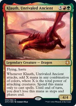 Klauth, Unrivaled Ancient - Foil