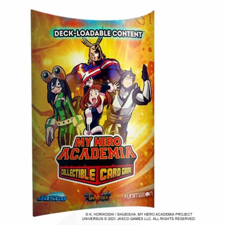 UFS: Deck Loadable Content Pack - My Hero Academia CCG Wave 1 (November Release)