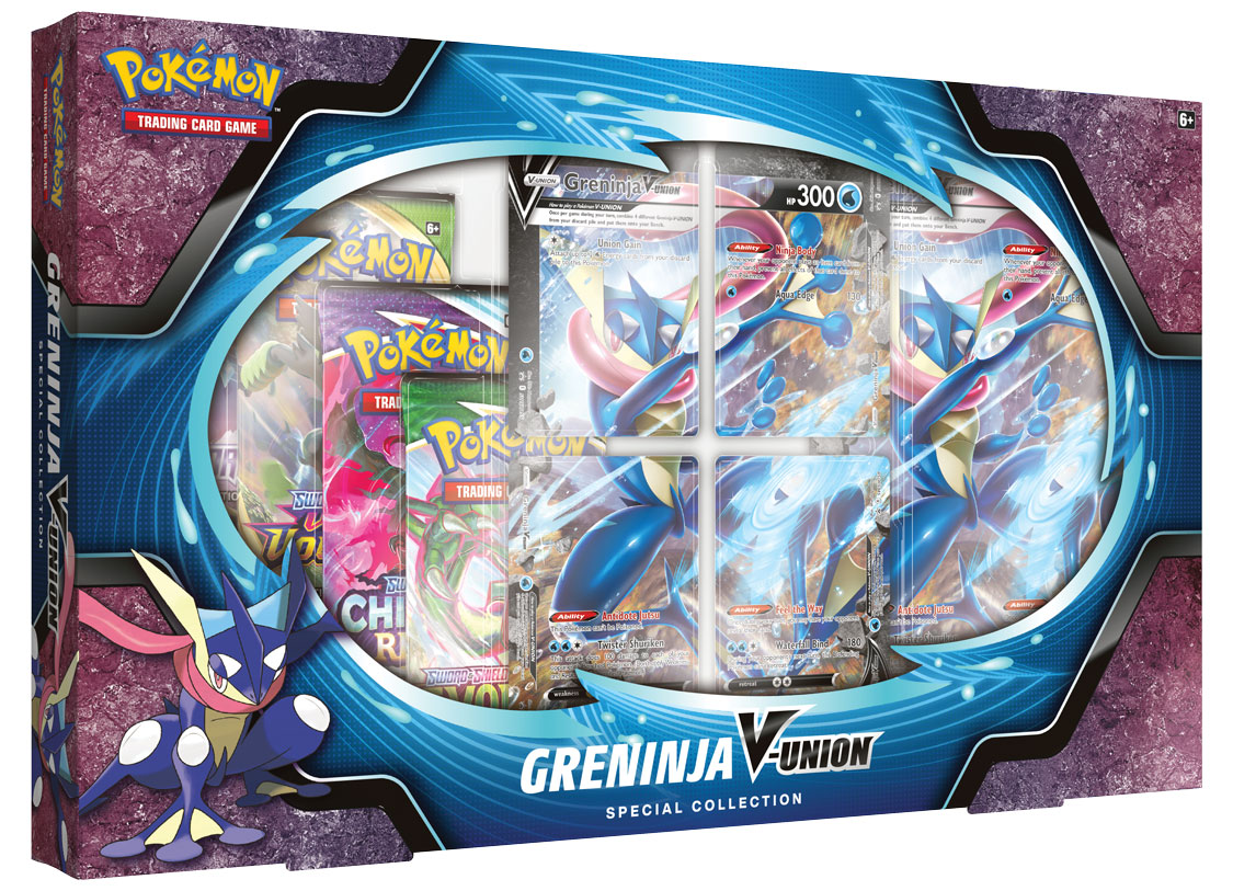 Greninja V-UNION Special Collection