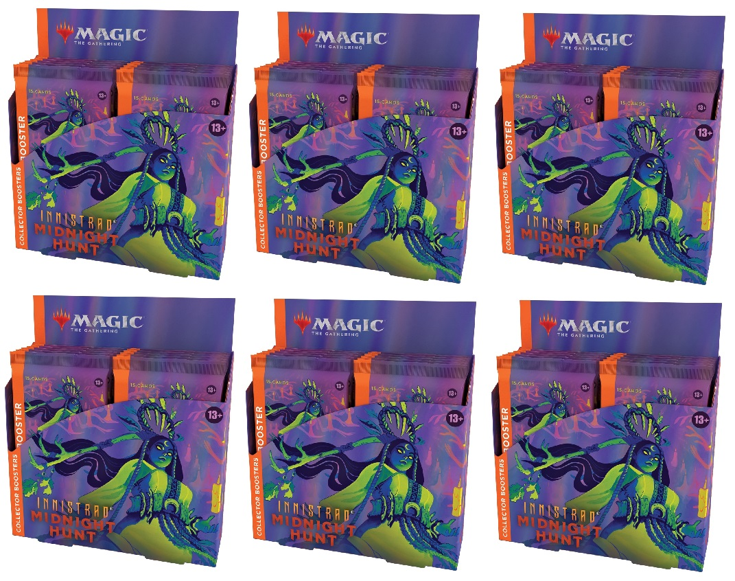 Innistrad: Midnight Hunt Collector Booster Case (6 Boxes)