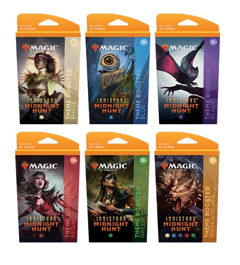 Innistrad: Midnight Hunt Theme Boosters Pack (Set of 6)