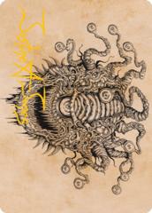 Baleful Beholder (Showcase) Art Card -  Gold-Stamped Signature