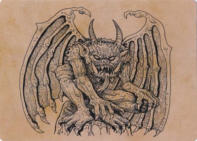 Cloister Gargoyle (Showcase) Art Card