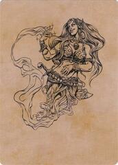 Djinni Windseer (Showcase) Art Card