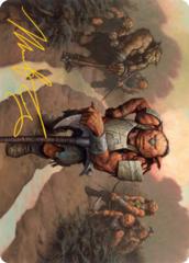 Hobgoblin Bandit Lord Art Card -  Gold-Stamped Signature