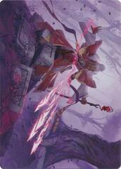 Magic Missile Art Card