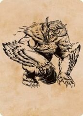 Owlbear (Showcase) Art Card