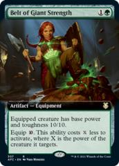 Belt of Giant Strength - Extended Art