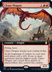 Chaos Dragon - Extended Art