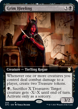 Grim Hireling - Extended Art