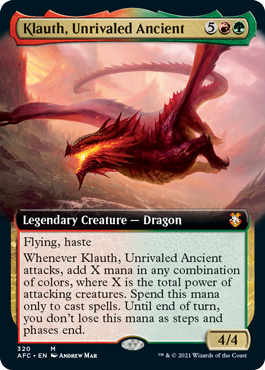 Klauth, Unrivaled Ancient - Extended Art