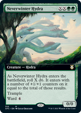 Neverwinter Hydra - Extended Art