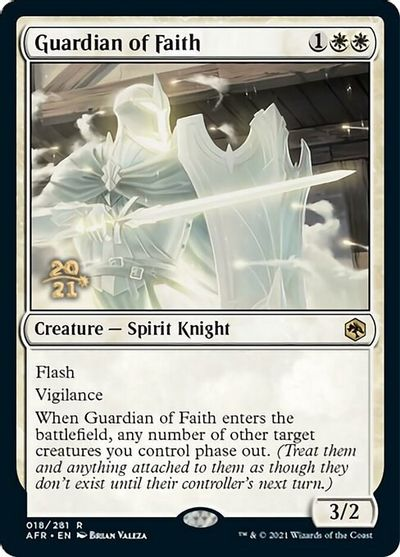 Guardian of Faith - Foil - Prerelease Promo
