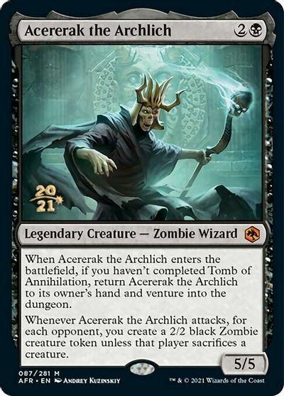 Acererak the Archlich - Foil - Prerelease Promo