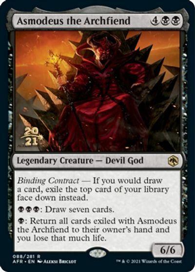 Asmodeus the Archfiend - Foil - Prerelease Promo