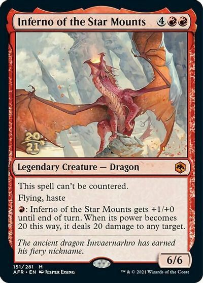 Inferno of the Star Mounts - Foil - Prerelease Promo