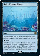 Hall of Storm Giants - Foil - Promo Pack