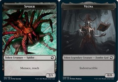 Spider Token // Vecna Token - Foil