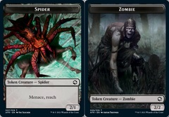 Spider Token // Zombie Token - Foil