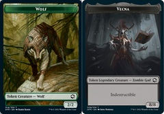 Wolf Token // Vecna Token - Foil