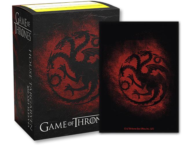 Dragon Shield: Game of Thrones House Targaryen Sleeves (100 ct.)