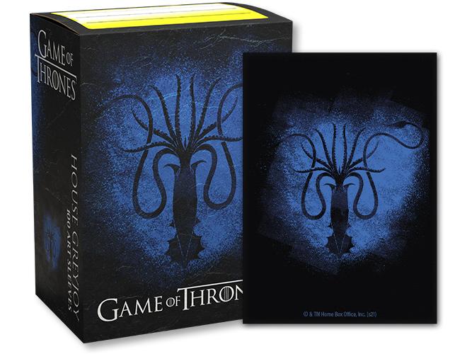 Dragon Shield: Game of Thrones House Greyjoy Sleeves (100 ct.)